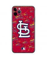 St. Louis Cardinals - Cap Logo Blast iPhone 11 Pro Max Skin
