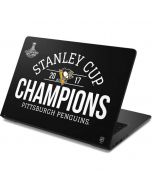 Stanley Cup Champions Pittsburgh Penguins Dell Chromebook Skin