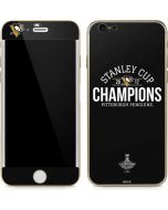 Stanley Cup Champions Pittsburgh Penguins iPhone 6/6s Skin