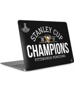 Stanley Cup Champions Pittsburgh Penguins Apple MacBook Air Skin