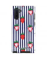 Strawberries and Stripes Galaxy Note 10 Pro Case