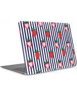 Strawberries and Stripes Apple MacBook Air Skin