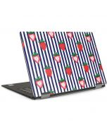 Strawberries and Stripes Dell XPS Skin