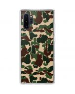 Street Camo Galaxy Note 10 Plus Clear Case