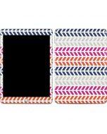 Striped Chevron Apple iPad Skin