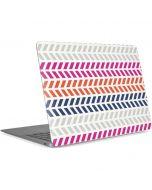 Striped Chevron Apple MacBook Air Skin