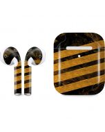 Striped Marble Apple AirPods 2 Skin