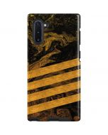 Striped Marble Galaxy Note 10 Pro Case