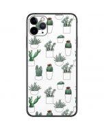 Succulent Pattern iPhone 11 Pro Max Skin