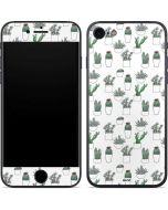 Succulent Pattern iPhone 8 Skin