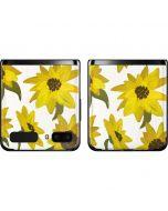 Sunflower Acrylic Galaxy Z Flip Skin