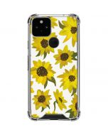 Sunflower Acrylic Google Pixel 5 Clear Case