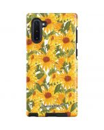 Sunflowers Galaxy Note 10 Pro Case