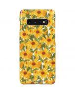 Sunflowers Galaxy S10 Plus Lite Case