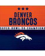 Denver Broncos Super Bowl 50 Champions Apple AirPods Skin