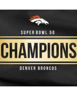 Denver Broncos Super Bowl 50 Champions Black Apple AirPods Skin