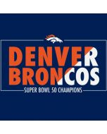 Denver Broncos Super Bowl 50 Champions Bold Apple AirPods Skin