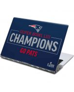 Super Bowl LIII Champions Go Pats Yoga 910 2-in-1 14in Touch-Screen Skin