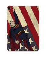 Superman American Flag Apple iPad Pro Skin