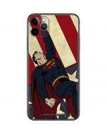 Superman American Flag iPhone 11 Pro Max Skin