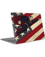 Superman American Flag Apple MacBook Air Skin