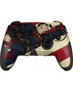 Superman American Flag PlayStation Scuf Vantage 2 Controller Skin