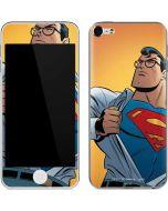 Superman Cartoon Apple iPod Skin