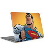Superman Cartoon Apple MacBook Air Skin
