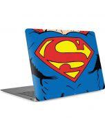 Superman Chest Apple MacBook Air Skin