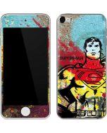 Superman Color Splatter Apple iPod Skin