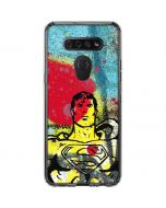 Superman Color Splatter LG K51/Q51 Clear Case