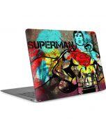 Superman Color Splatter Apple MacBook Air Skin