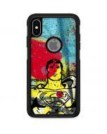 Superman Color Splatter Otterbox Commuter iPhone Skin