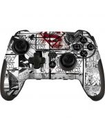 Superman Comic Logo in Red PlayStation Scuf Vantage 2 Controller Skin