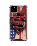 Superman Crest Google Pixel 5 Clear Case