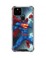 Superman Elements Google Pixel 5 Clear Case