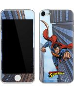 Superman Flying Apple iPod Skin