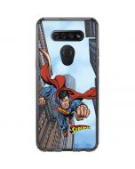 Superman Flying LG K51/Q51 Clear Case