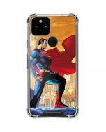 Superman Google Pixel 5 Clear Case