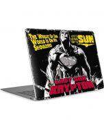 Superman Last Son of Krypton Apple MacBook Air Skin
