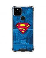 Superman Logo Google Pixel 5 Clear Case