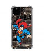 Superman Mixed Media Google Pixel 5 Clear Case