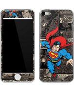 Superman Mixed Media Apple iPod Skin