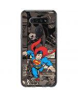 Superman Mixed Media LG K51/Q51 Clear Case