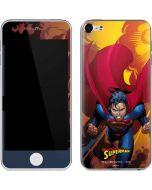 Superman on Fire Apple iPod Skin
