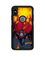 Superman on Fire Otterbox Commuter iPhone Skin
