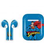 Superman Portrait Apple AirPods Skin