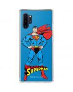 Superman Portrait Galaxy Note 10 Plus Clear Case