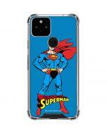 Superman Portrait Google Pixel 5 Clear Case