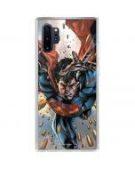 Superman Stops Bullets Galaxy Note 10 Plus Clear Case